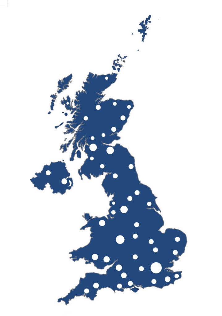 UK wide map